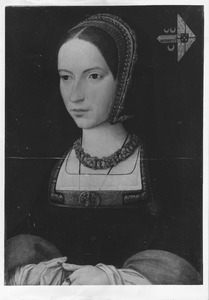 Portret van een vrouw, mogelijk Marguerite de Guevara