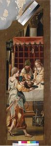 Salome brengt het hoofd van Johannes de Doper aan Herodes