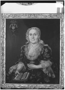 Portret van Catharina Maria Stachouwer (1683-1761)