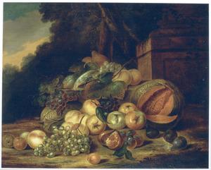 Vruchten in een park