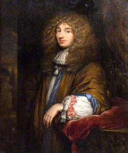 Portret van Christiaan Huygens II (1629-1695)