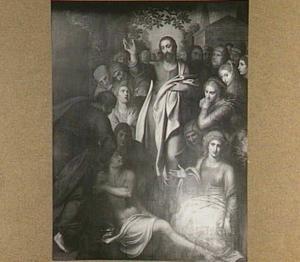 De opwekking van Lazarus (Triptiek van Pieter Damant)