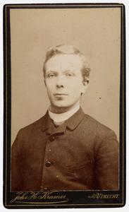 Portret van Francois Frederik Jacob van de Plassche (1866-1929)