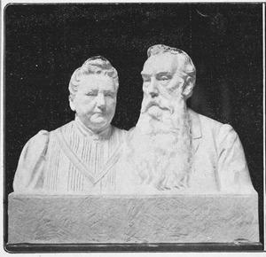 Portret van dhr. en mw. Ijzerman, ouders van de kunstenares