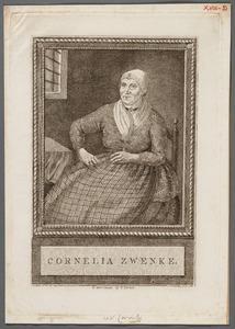 Portret van Cornelia Toppen (1730-1800), bijgenaamd Keet Zwenke of Ruige Keet