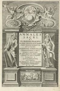 Titelpagina voor A. Torniello, Annales Sacri, Antwerpen 1620