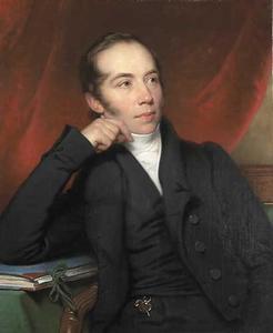 Portret van Pieter Ernst Hendrik Praetorius (1791-1876)