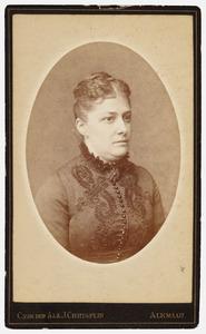 Portret van Annie Bleeker