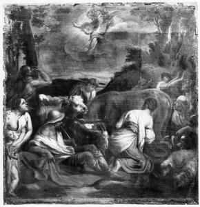 De engel verschijnt aan de herders (Lukas 2:8-14)