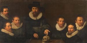 Anatomische les van Dr Johan Fonteyn