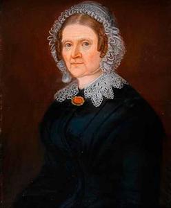 Portret van Johanna Hendrika van Moock (1798-1882)