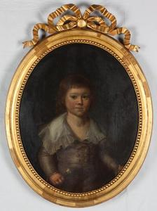 Portret van François Willem de Virieu (1789-1876)