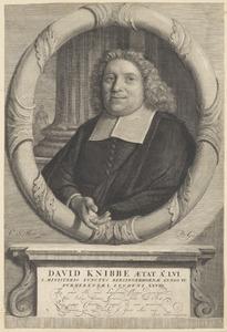 Portret van David Knibbe (1639-1701)