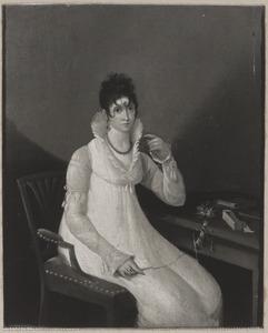 Portret van een vrouw, waarschijnlijk Alida Pieternella Boellaard (1783-1858)