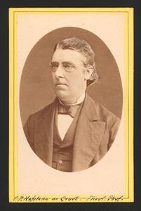 Portret van Cornelis Philippus Hofstede de Groot (1829-1884)