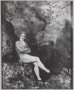 """Portret van Charles Samuel """"le Chinois"""" de Constant Rebecque (1762-1835)"""