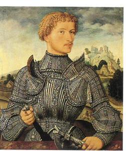 Portret van de heer Rehlinger