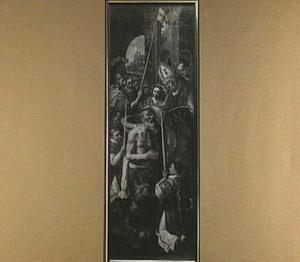 De doop van de koning van Silena (Altaar van de Oude Voetboog)