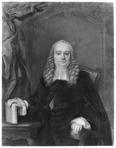 Portret van Abraham del Court (1723-1759)