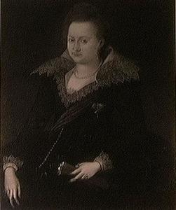 Portret van prinses Hedwig van Saksen (1581-1641)