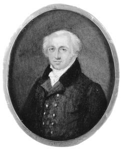 Portret van Isaac Morier (1750-1817)