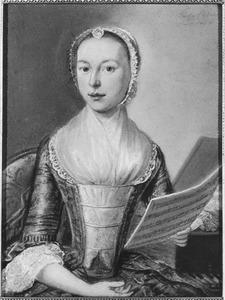 Portret van mogelijk Hester Johanna des Pommare (1730- )