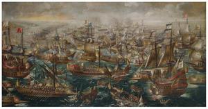 De zeeslag bij Lepanto, 7 oktober 1571