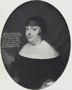 Portret van Christiane (1626-1670), weduwe van Hannibal Sehested en dochter van Christiaan IV