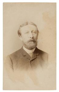 Portret van Jacobus Leonardus Cornelis Bos (1844-1890)