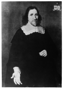 Portret van Justinus van Moerkerken (?-1649)