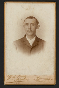 Portret van Arie Johannes de Haas (1869-1912)