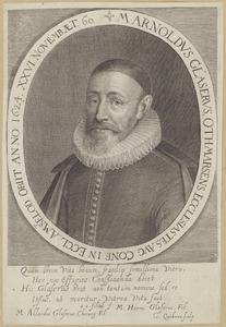 Portret van Arnoldus Glaserus (1564-1624)