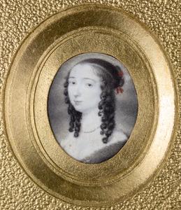 Portret van een vrouw, mogelijk Louise Henriette van Oranje- Nassau (1627-1667)