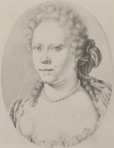 Portret van Brigitta Catharina Backer (1670-1751)