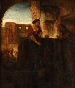 Christus en de vrouw van Samaria