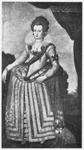 Portret van Anna Catharina van Brandenburg (1575-1612)