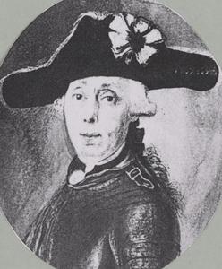 Portret van Cornelius Jacobus van de Graaff (1734-1812)