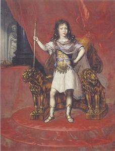 Kinderportret van koning Karl XI (1655-1697)