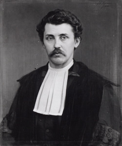 Portret van Martinus Hoek (1834-1873)