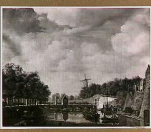 De Tolsteegpoort in Utrecht met omgeving