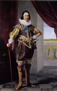 Portret van James I Stuart (1566-1625),  koning van Engelend en Schotland