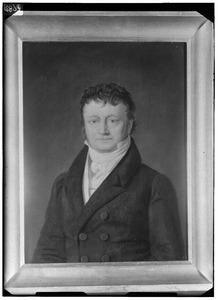Portret van Maurits Adriaan de Savornin Lohman (1770-1833)