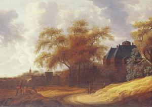 Het Huis ten Bosch gezien vanuit het oosten