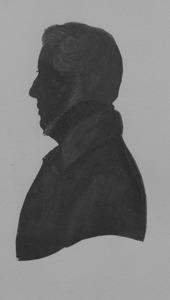 Portret van Adriaan Willem Snouck Hurgronje (1817-1885)