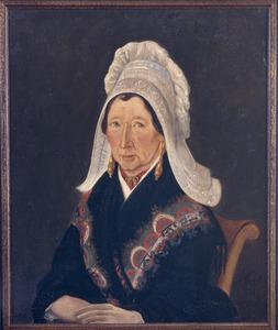 Portret van Anna Catharina Mahu (1796-1864)