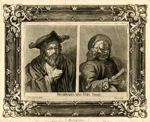 Man met baard; Lezende Titus