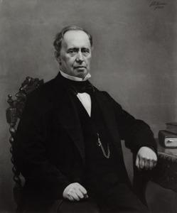 Portret van Joannes Pompejus Boudewijn Onderwater (1810-1876)