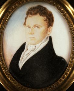 Portret van Jacob Lodewijk Johan Baptist Sweerts de Landas (1790-1847)