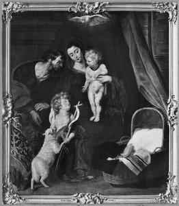De Heilige Familie met de kleine Johannes de Doper