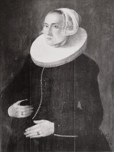 Portret van Magdalena Vijns van Halewijn